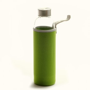 Tea Infuser Bottle With Nylon Sleeve - 22 oz