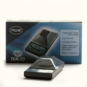 DIA20 Digital Carat Scale - 100 x 0.005