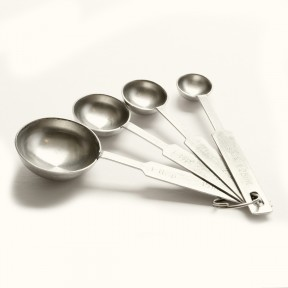 Stainless Steel Measuring Spoon - 4 Piece Set