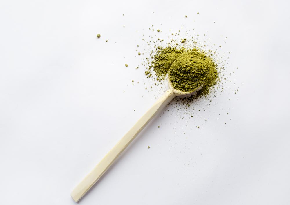 wooden spoon kratom powder