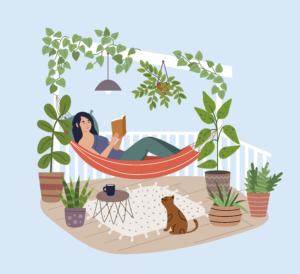 hammock illustration